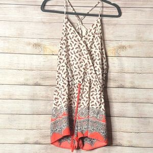Anthropologie Sweet Wanderer Paisley romper